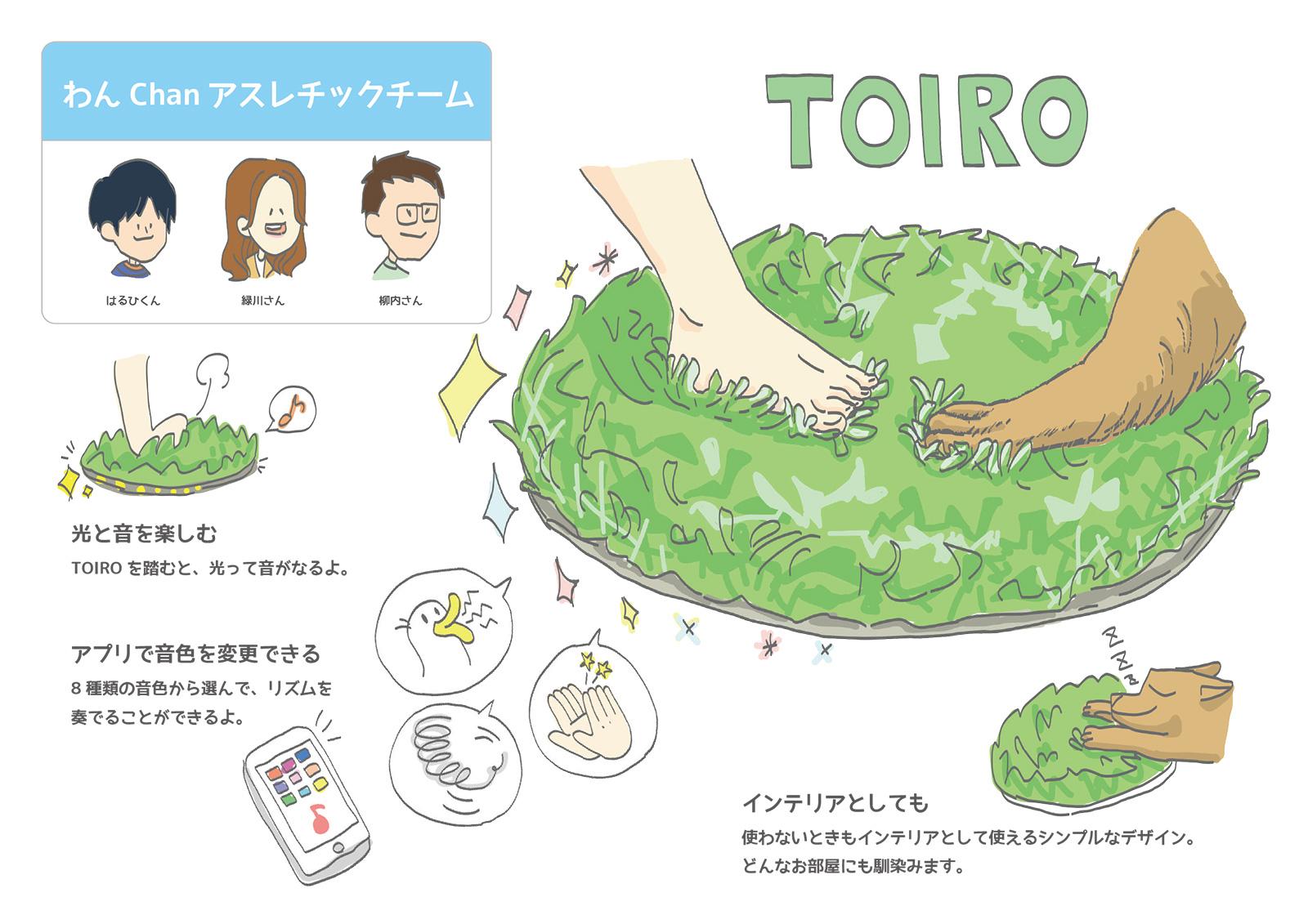 TOIRO グラレコ